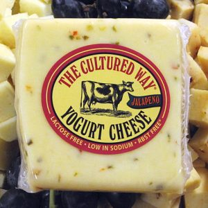 Cultured Way Jalapeno Yogurt Cheese 7oz
