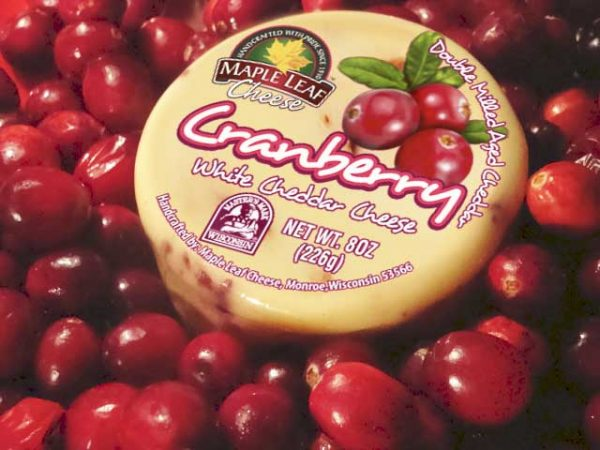 Cranberry White Cheddar 8oz