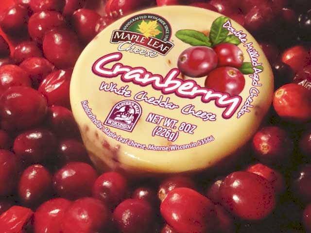 Cranberry White Cheddar 8oz