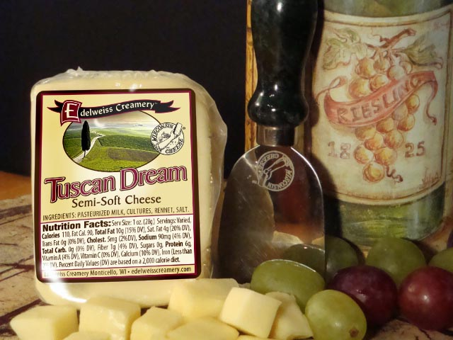 Tuscan Dream Semi-Soft Ripen Cheese 5-6oz